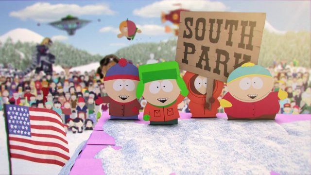 South Park - Season 17 Opening Titles - Directed by Karin Fong , Produced by Kacie Barton, Art Directed by Alan Williams, Technical Director Jeremy Cox