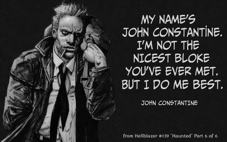 Hellblazer Comics Quote-1