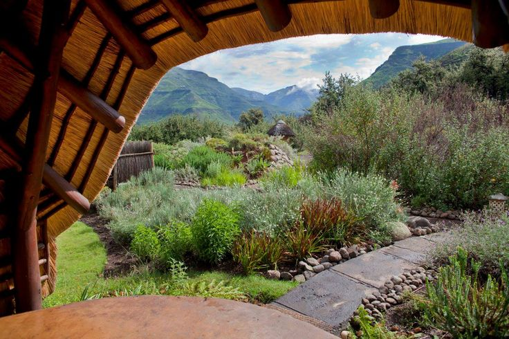 Stepping out your chalet into the Maluti Mountains! #Lesotho #WanderlustWednesday