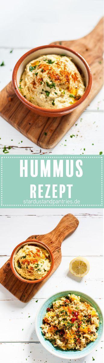 Leckeres und gesundes Hummus Rezept - klassiches Hummus Rezept, total einfach zum selber machen