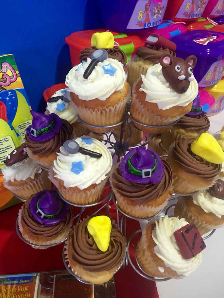 Cup cakes Reino de la Fantasía.  Geronimo Stilton