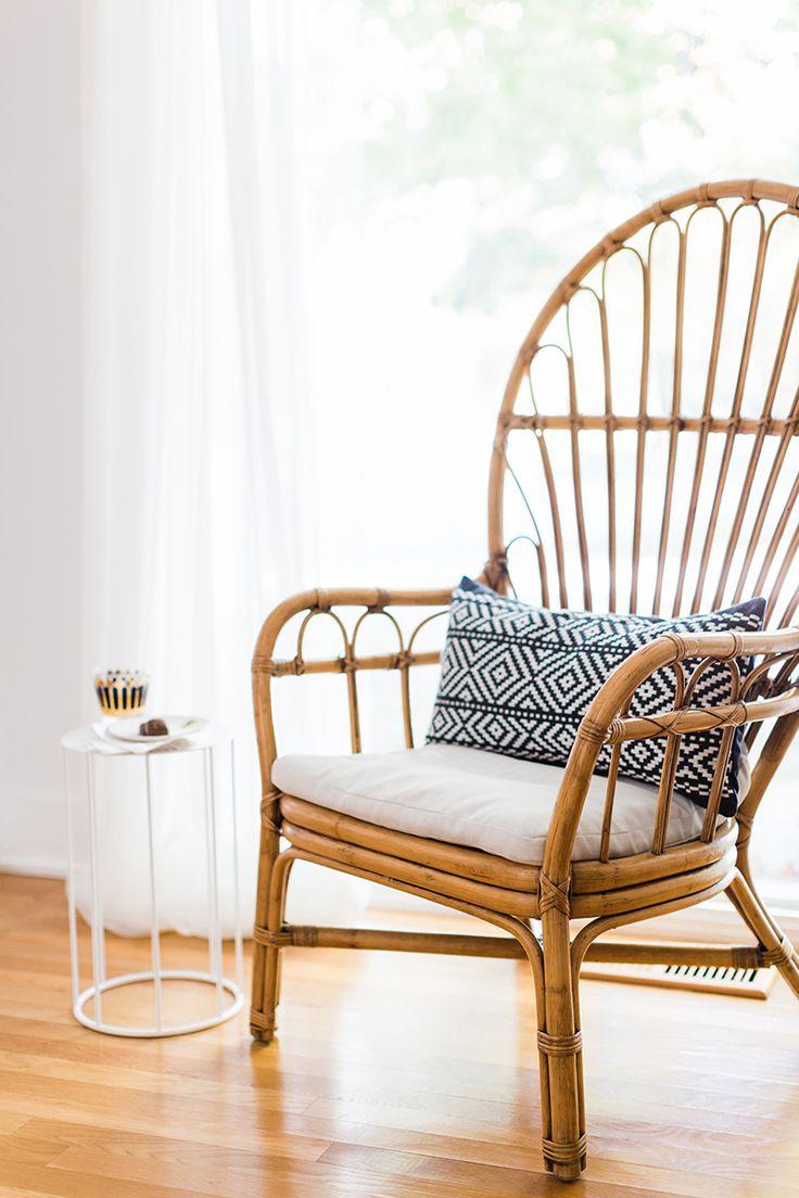 #woodenchair #livingroominspo #theeverygirl