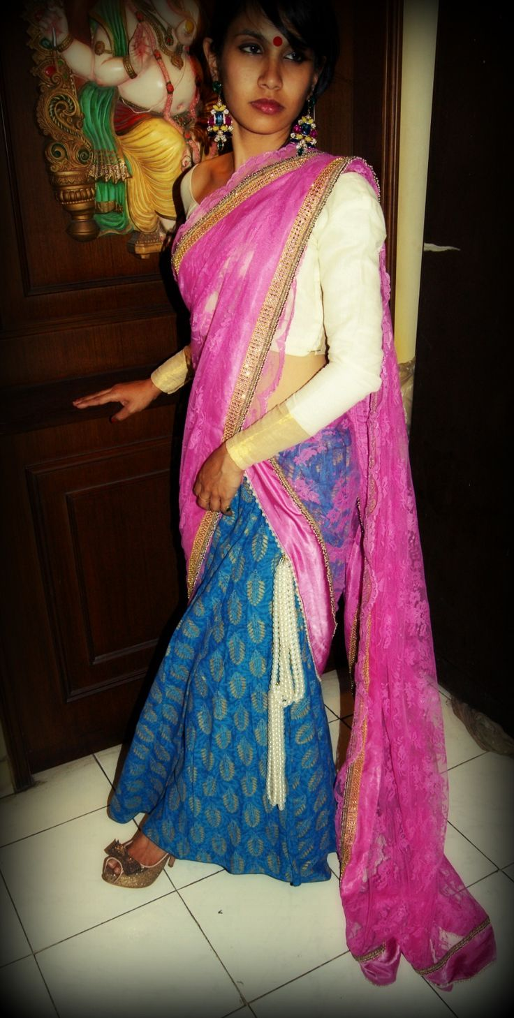 Sari by Ayush Kejriwal , To find out more about my brand  or purchases visit my Facebook page - Ayush Kejriwal #sarees,#saris,#indianclothes,#womenwear, #anarkalis, #lengha, #ethnicwear, #fashion, #ayushkejriwal, #design, #couture
