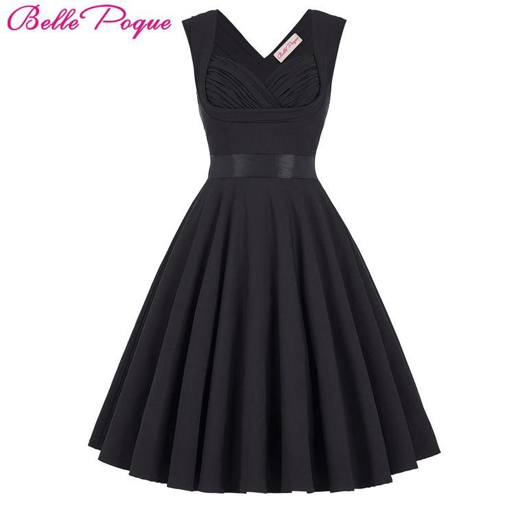 Fashion Women Summer Dress Retro 1950s 60s Vintage Dresses Vestidos Audrey Hepburn Plus Size Rockabilly Sexy Swing Party Dresses
