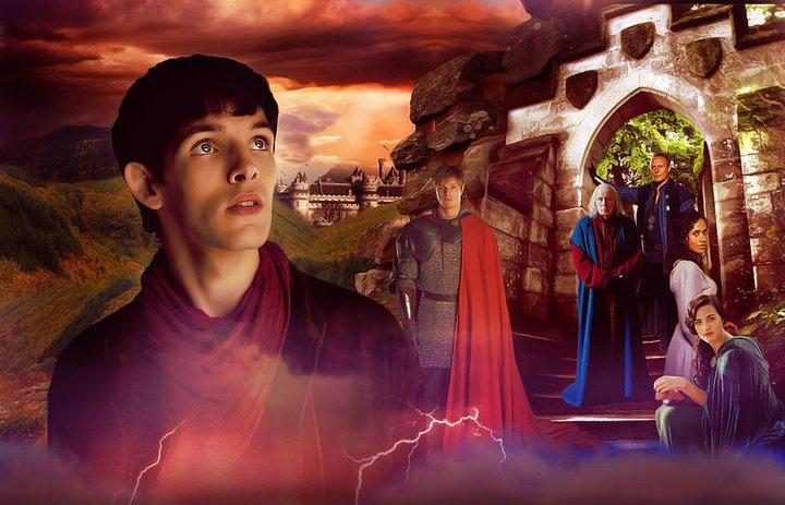 Merlin, Arthur, Gauis, Uther, Gwen, Morgana