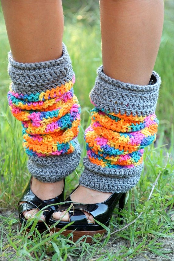 Free Printable Crochet Patterns For Leg Warmers : 153 mejores imagenes sobre CALENTADORES en Pinterest ...