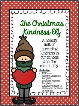 Are you looking for a way to bring excitement to your classroom this year while also teaching kindness and gratitude? This freebie is just what you need!Packet includes:-Elf planning calendar-Welcome letter-Random acts of kindness cards-Template cards
