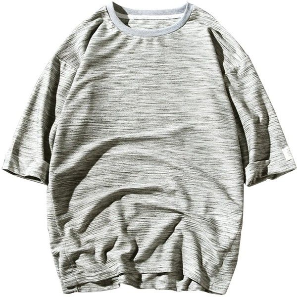 Textured Crew Neck Three Quarter Sleeve Tee (415.485 VND) ❤ liked on Polyvore featuring men's fashion, men's clothing, men's shirts, men's t-shirts, j crew mens shirts, mens 3 4 sleeve shirts, 3 4 length sleeve mens shirts, mens 3 4 sleeve t shirts and mens three quarter sleeve shirts