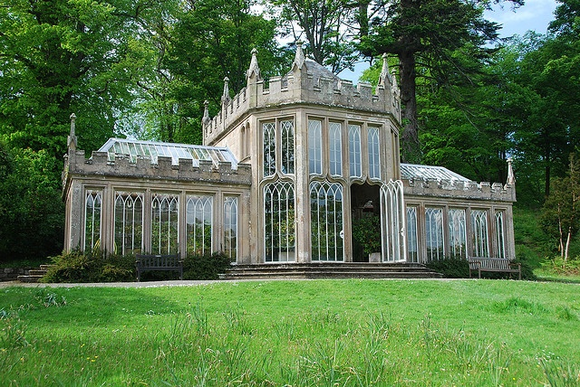 Camellia House at Culzean Castle - Photograph by cosmic-kid99