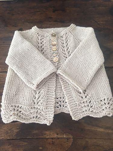 Free Pattern: Old Shale Cardigan