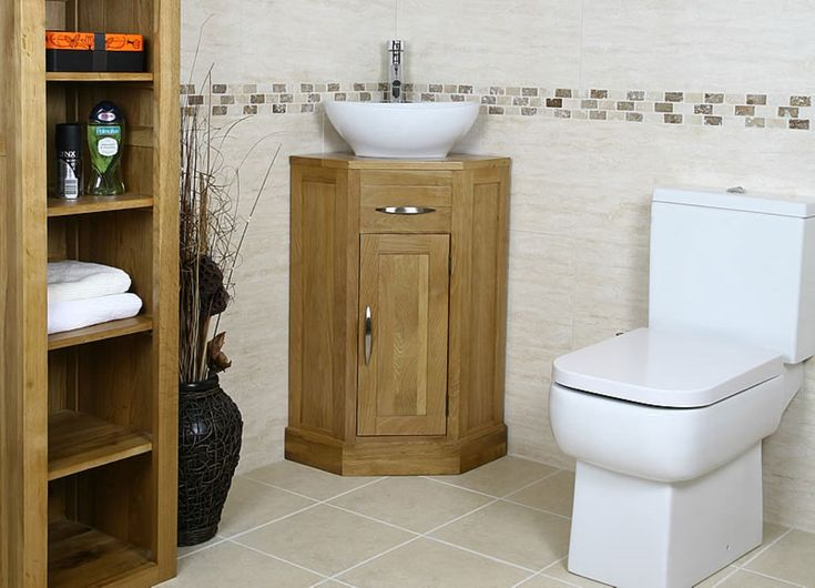 Photo Gallery In Website Fabulous Bathroom Storage Ideas with Wooden Materials Completed with Corner Vanity Sink and White Toilet Seat