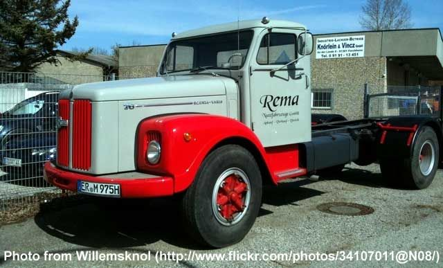 649 best images about scania vabis on pinterest - Bac a semis ...