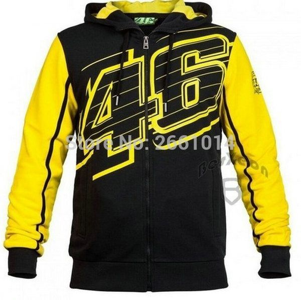 29.31$  Watch here - Free Shipping New style More Valentino Rossi VR46 Hoodies MotoGP Factory Team Motorcycle Jackets Sweaters cotton coat Random   #buychinaproducts
