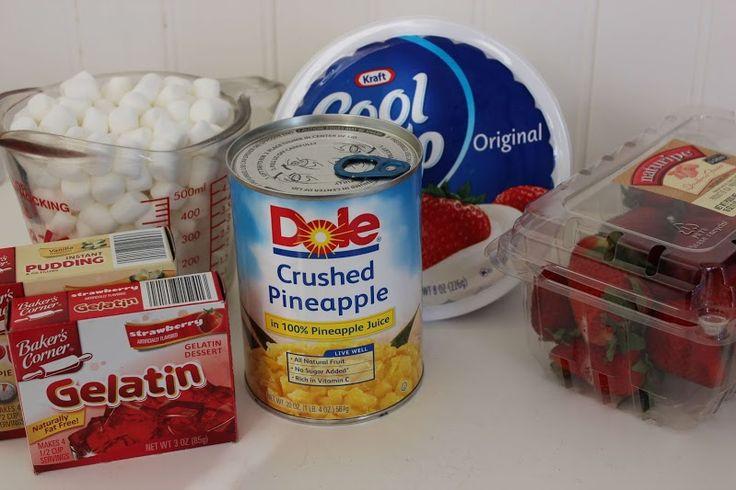 Strawberry Fluff Salad recipe
