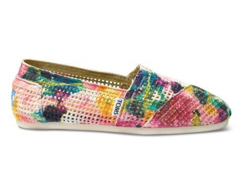 Pink Printed Women's Crochets   TOMS.com #toms