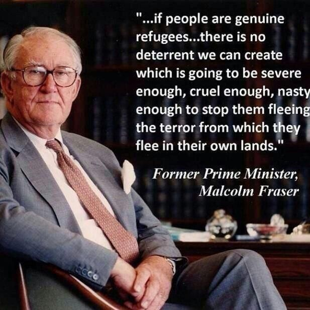 Thank you @MalcolmFraser12 for being a fearless champion for #asylum seekers in 2014.  #auspol #refugees (See also http://www.bloggerme.com.au/eulogy-death-malcolm-fraser-i-hated-him-learned-love-him