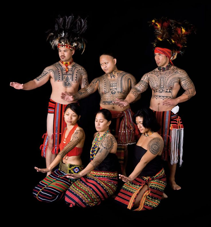 Of The Bright Lovely Things: Art II Philippine Tribal Ink