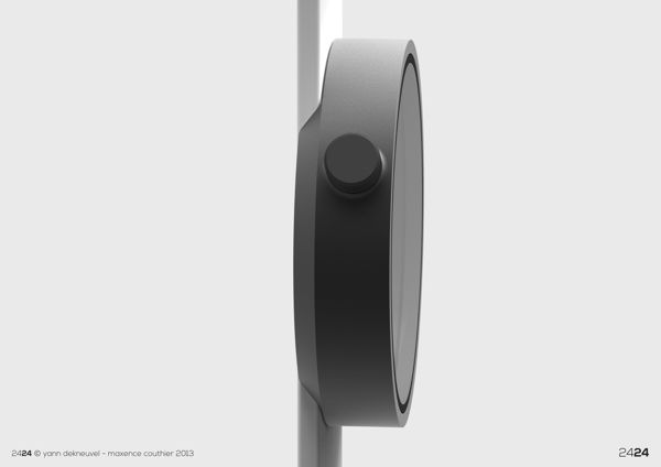 24/24 watch by Maxence Couthier &Yann Dekneuvel https://www.behance.net/gallery/2424-Time-Experience/11122325