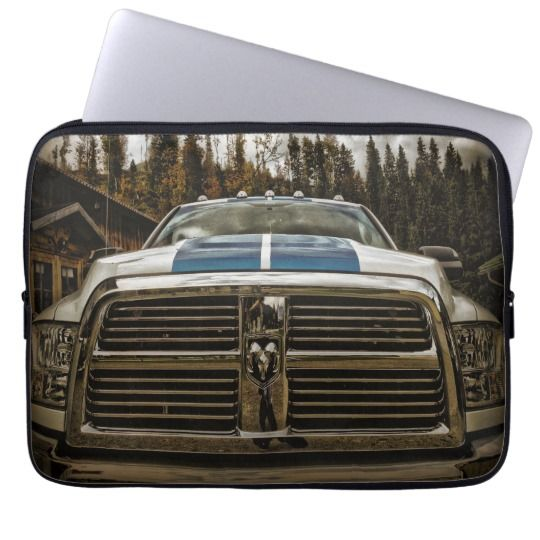 "Dodge 13"" Laptop Sleeve $27.95"