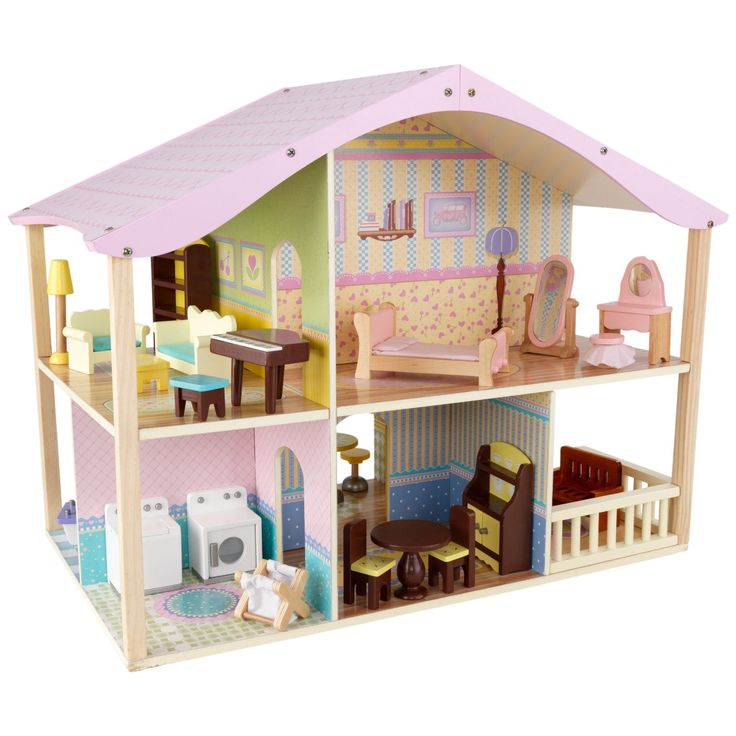82 best Casuta papusi images on Pinterest Dollhouses Doll and Toys