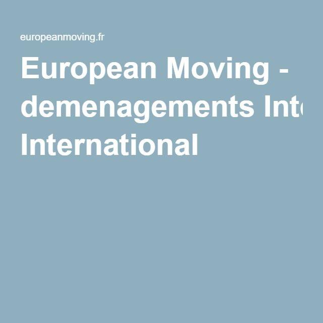 European Moving - demenagements International