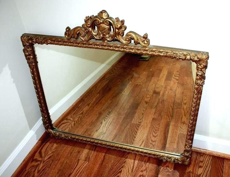 Wall Mirrors Cherry Mirror Wood Framed