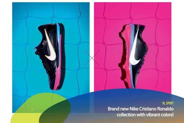 Kalian sudah liat belum koleksi sepatu Nike edisi Cristiano Ronaldo yang baru? What do you think of the design?    *as posted on XL Rame