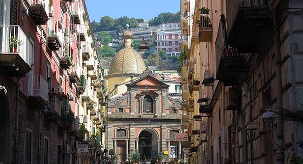 La Chiesa di Santa Maria in Portico!!! (Napoli)