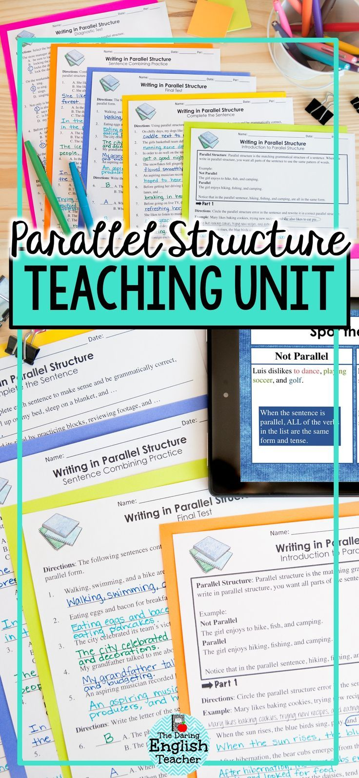 Pin on Teaching Writing in the Secondary ELA Classroom [ 1594 x 736 Pixel ]