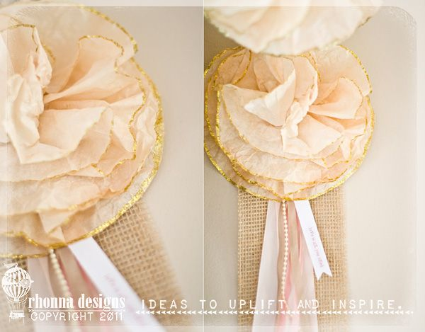 24 Best Coffee Filter Crafts Images On Pinterest