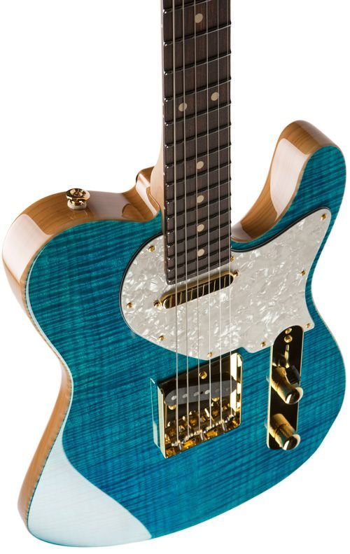 Nice Tele-style guitar