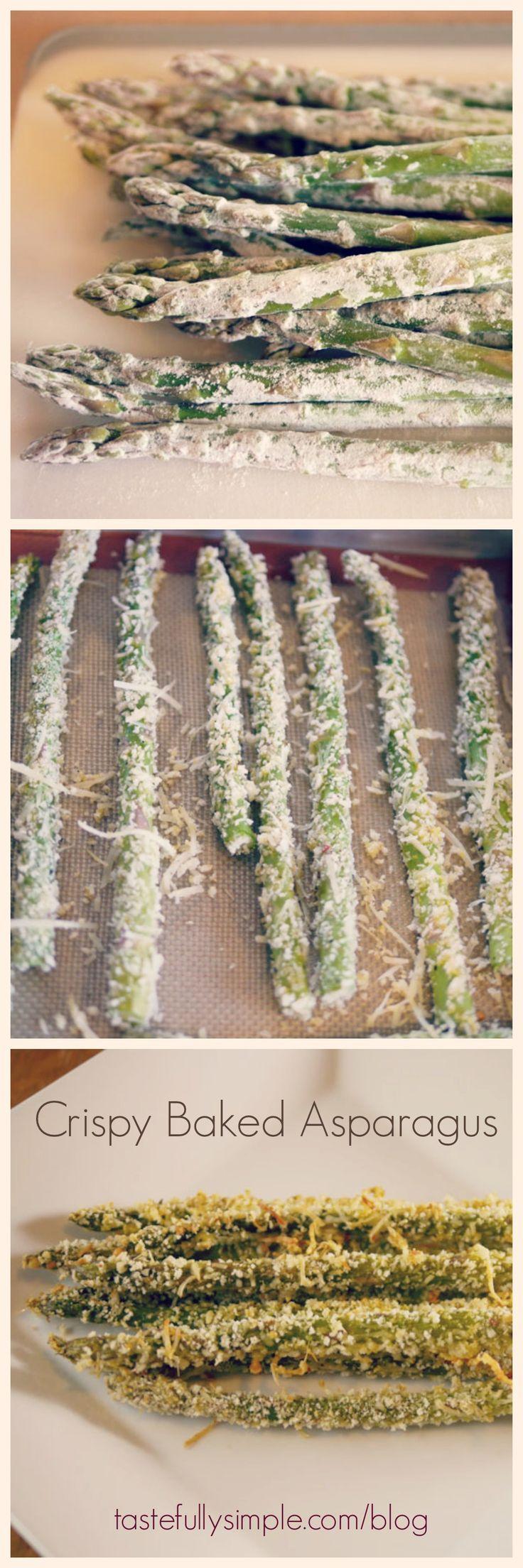 Crispy Baked Asparagus Recipe | Tastefully Simple