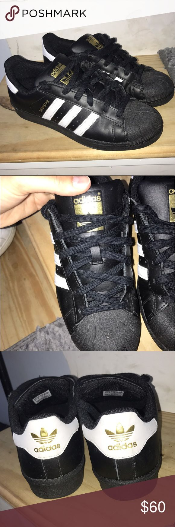Adidas Allstars Work once, in excellent condition!! Adidas Shoes