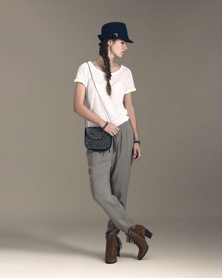 Fondo de armario: el sombrero. Siempre dará un toque bohemio a tu look.