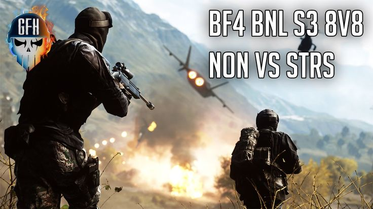 Battlefield 4 8v8 Clan War - BNL NON Vs stRS S3 Match Highlights