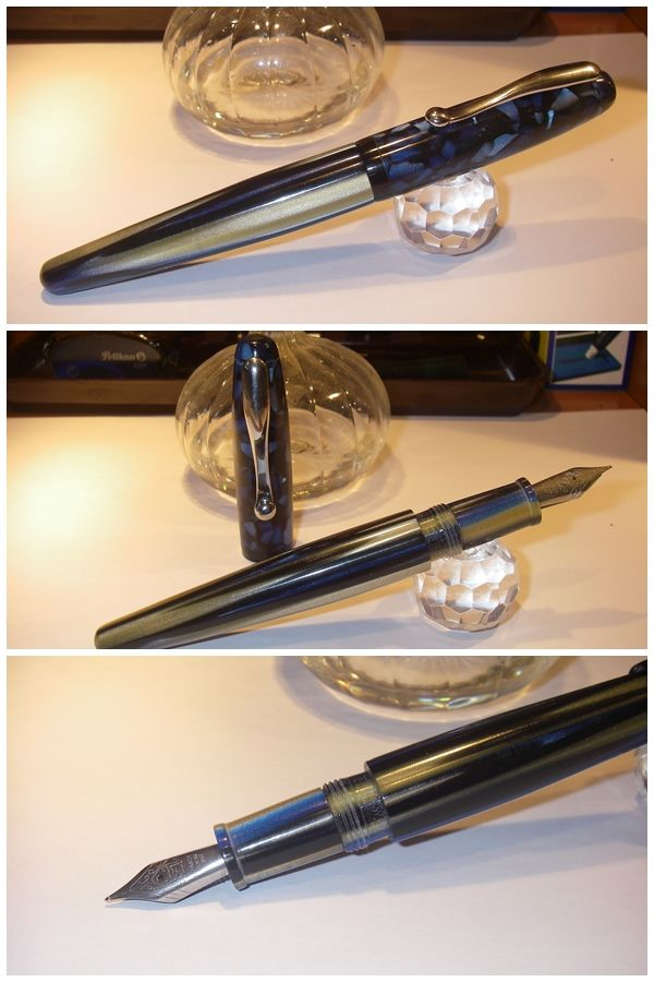 Chessboard Cigar Chicago Fountain Pen - Made in Italy http://www.blancheurpens.com/