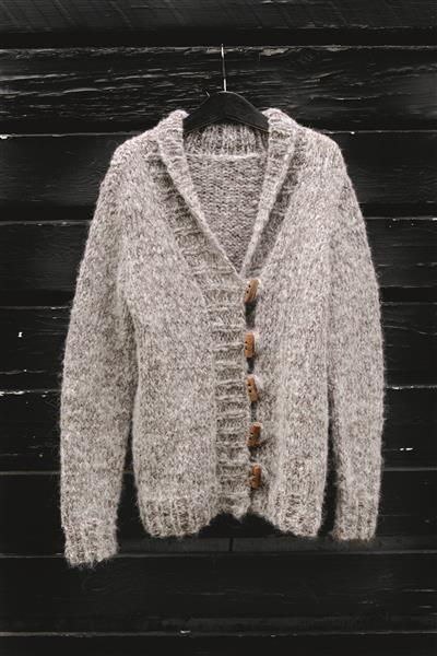 1512: Design 14 Jakke #strikk #knit