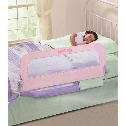 Summer Infant Single Bedrail In Plush N Pink