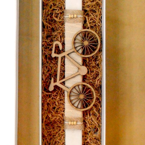 Easter candle classic bicycle wooden ornament Greek by Akatergasto