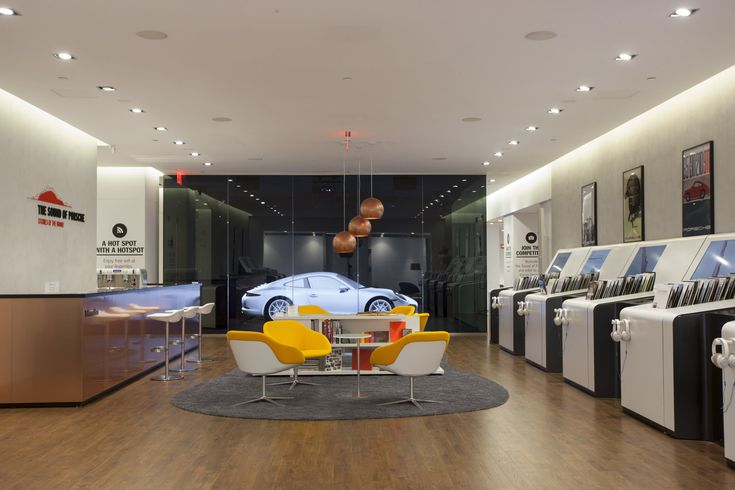 Porsche, Pop up store with Sound Lab, New York, Usa #retail