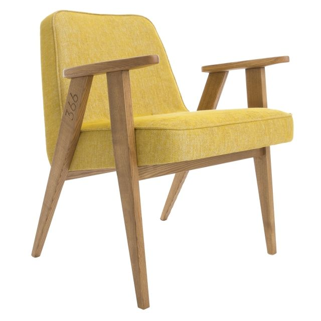 366 Armchair, LOFT Mustard  5 days delivery,  FREE delivery to EU (excl. UK), 14 days return