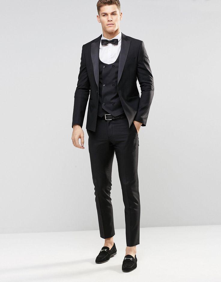 ASOS+Slim+Tuxedo+in+Black