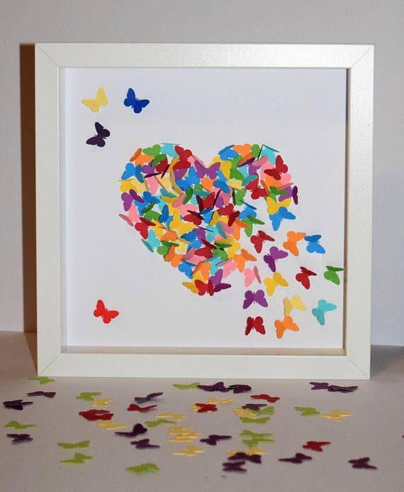 Check out this item in my Etsy shop https://www.etsy.com/uk/listing/572973299/23x23cm-framed-3d-butterfly-heart