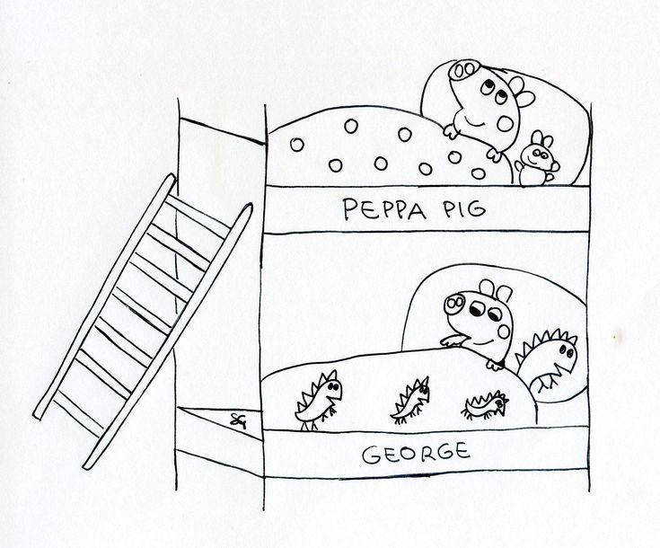 140 best images about disegni da colorare on pinterest for Maschere di peppa pig da colorare