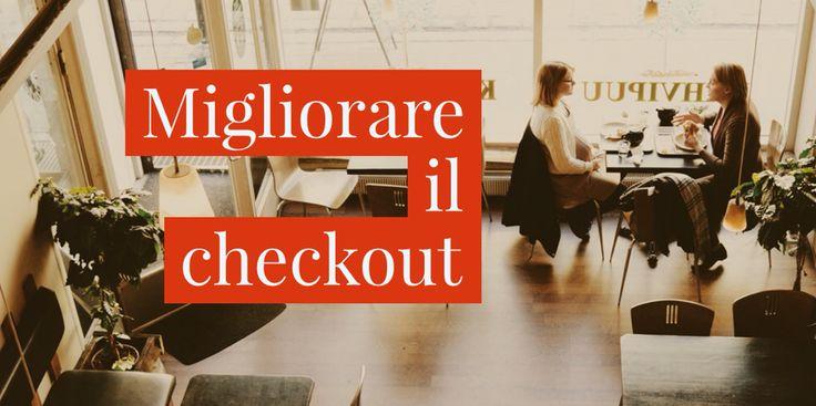 Cosa puoi fare da subito per migliorare la #ux del #checkout ( video ): https://youtu.be/LGzyLc40lc8