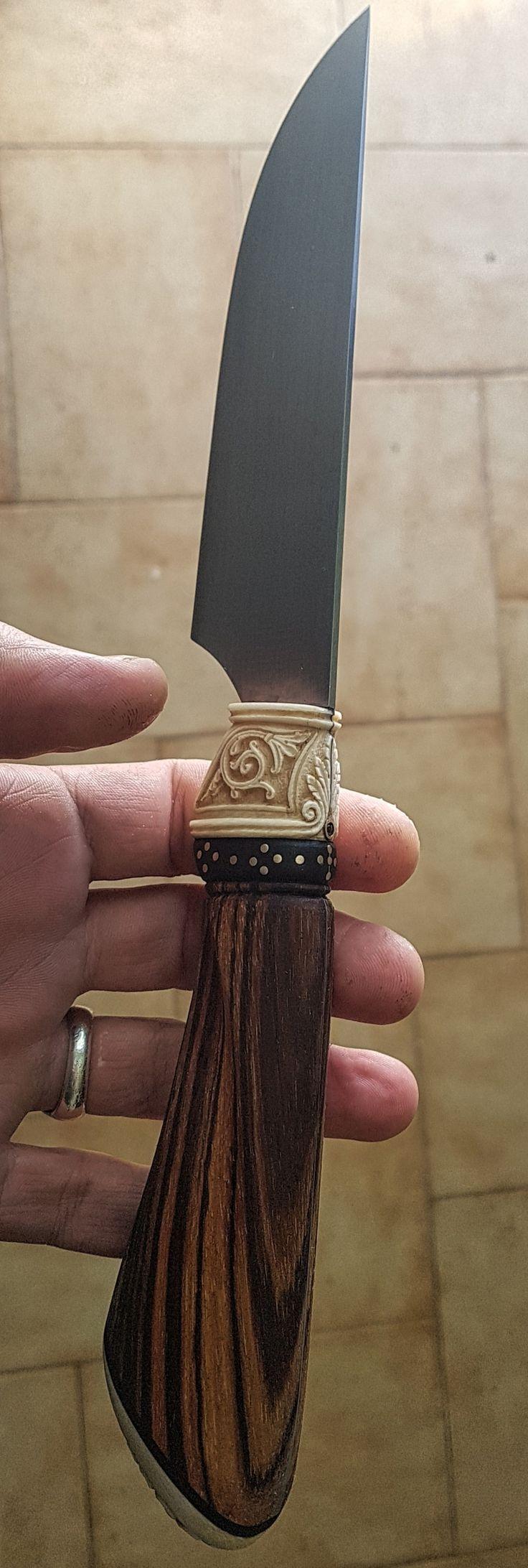 Handmade knife by vangelis tsoubris