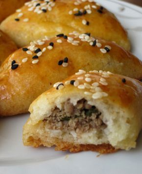 Turkish Food and Recipes: Ground Meat Pastry (Kıymalı Poğaça)
