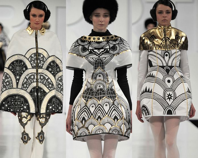 London Graduate Fashion Week Print & Pattern Highlights A/W 2012/13 | catwalks