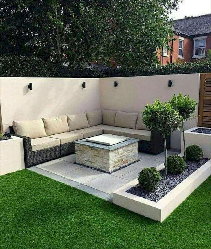 50 Awesome Modern Garden Architecture Design Ideas In 2020 Kleiner Hinterhof Landschaftsbau Garten Landschaftsbau Garten Terrasse