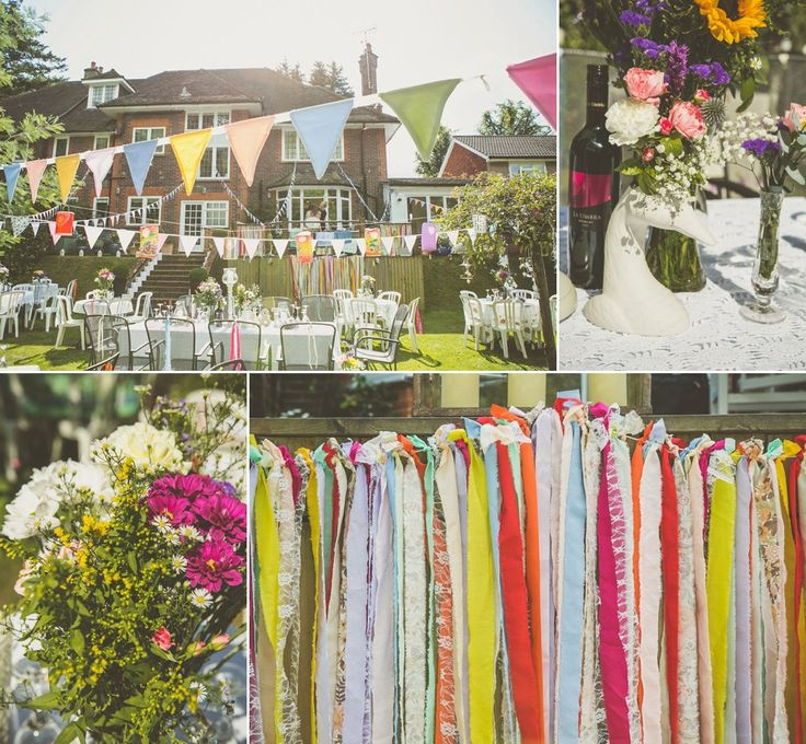 Colourful wedding decor. Photography by http://indiahobsonweddings.co.uk/